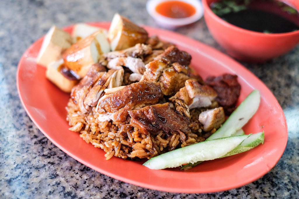 Braised Duck Rice: Ah Di Braised Duck Rice Kway Chap