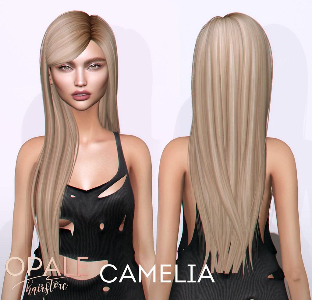 Opale Hair . Camelia @ Tres Chic August 2017 - SecondLifeHub.com
