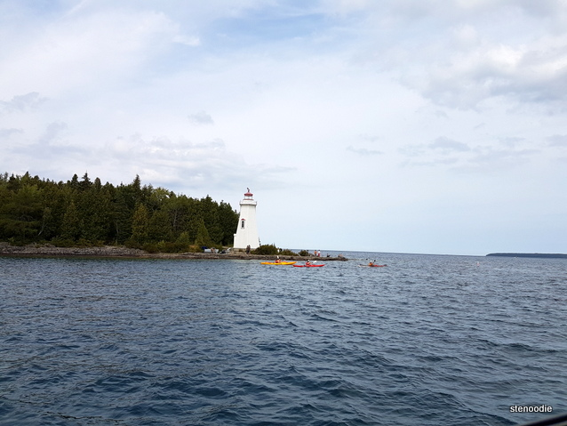 lighthouse in the Georgian Bay waters