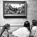.. tri devitsy pod oknom .. A.S.Pushkin