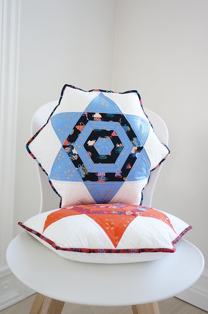 Aurora star pillow