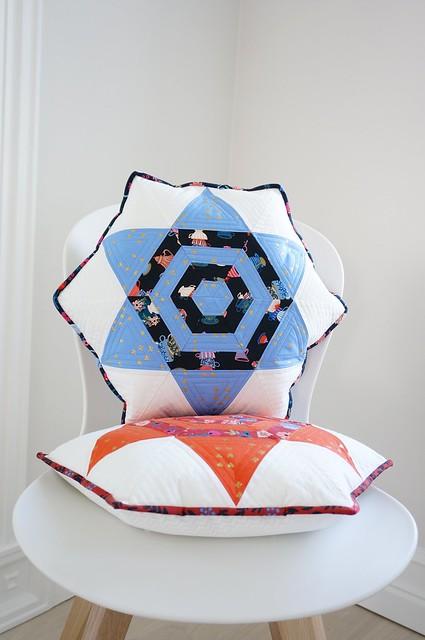 Aurora star pillow