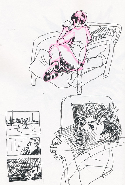 Sketchbook #105: Reading