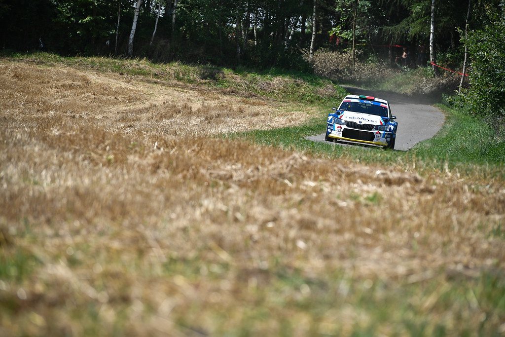 01 MAGALHA~ES Bruno (PRT)  MAGALHA~ES Hugo (PRT) Skoda Fabia R5 action during the 2017 European Rally Championship Rally Rzeszowski in Poland from August 4 to 6 - Photo Wilfried Marcon / DPPI