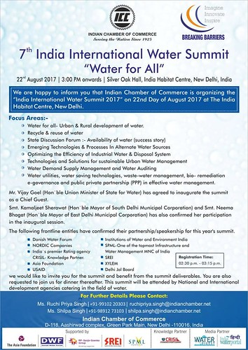 7th India International water summit