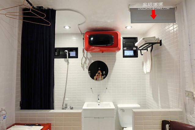 台南民宿正興延平公寓浴廁拉簾