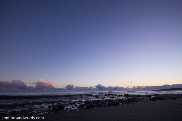 Dusk at the beach 06