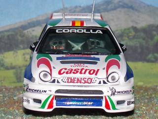Toyota Corolla WRC - Montecarlo 1998 - Vitesse