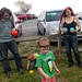 20170416 1424 - Easter 2017 - Clint, Dyson, Lincoln, Carolyn - bocce ball - (by Vicky) - 34040540986_dcc96ab17c o