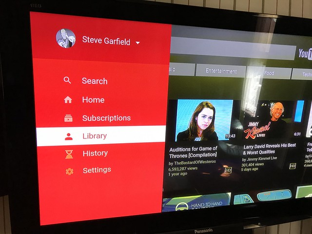 YouTube on Amazon Fire TV Stick