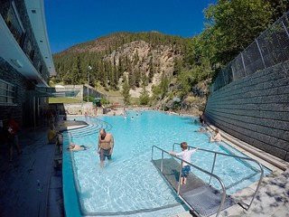 Radium Hot Springs: Hot Spa