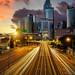 Hong Kong cityscape by anekphoto