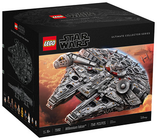 「清晰官圖曝光!!」史上最巨大的怪物盒組!!LEGO 75192 星際大戰 終極收藏家系列【千年鷹號】Star Wars UCS Millennium Falcon