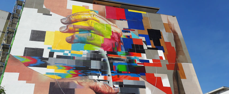 Stedentrip Heidelberg, street art in Heidelberg | Mooistestedentrips.nl