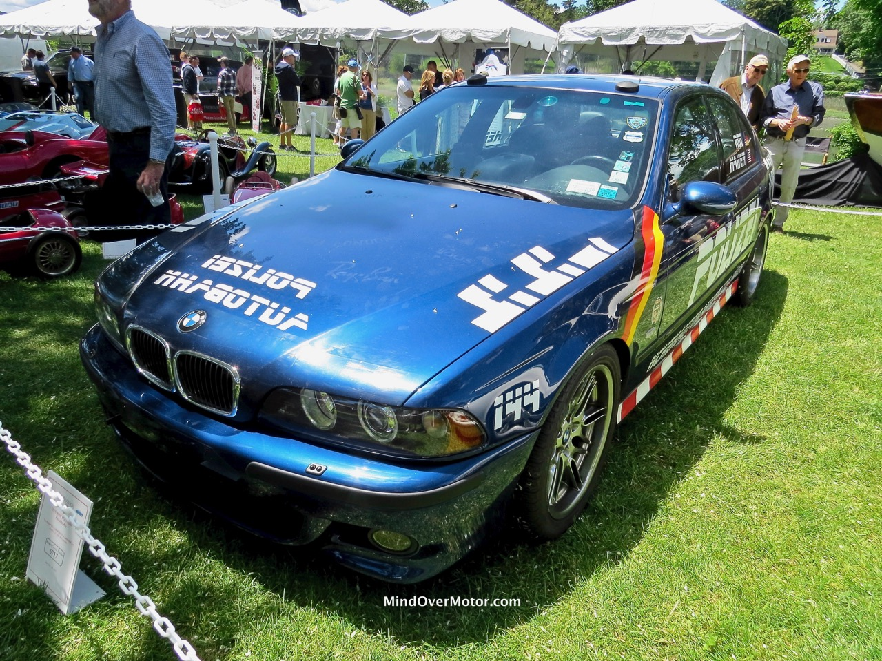 Alex Roy's BMW M5