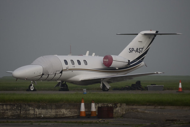 SP-AST Cessna 525 Citationjet CJ1