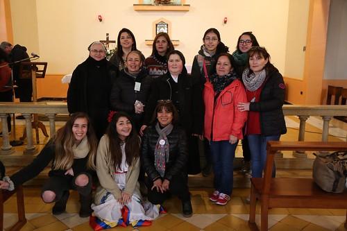 Participación en IXº encuentro Familia de la Sangre de Cristo