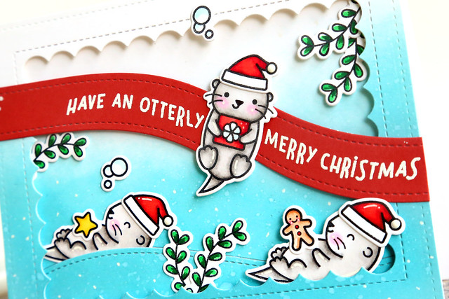 Stamptember: Christmas Like No Otter!