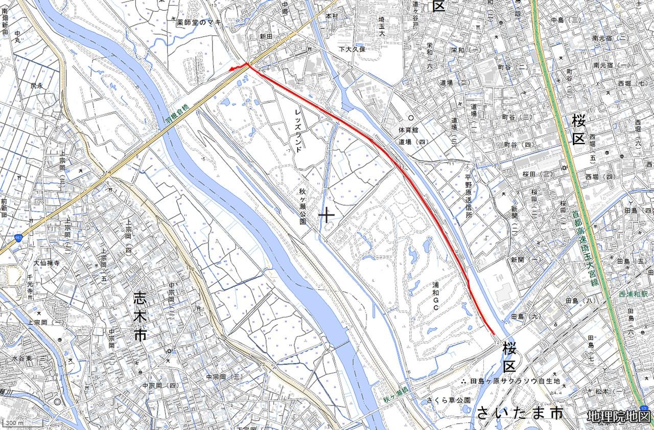 3.秋ヶ瀬橋-羽根倉橋