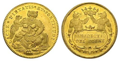 Swiss Gold Benedictio Dei Diiat