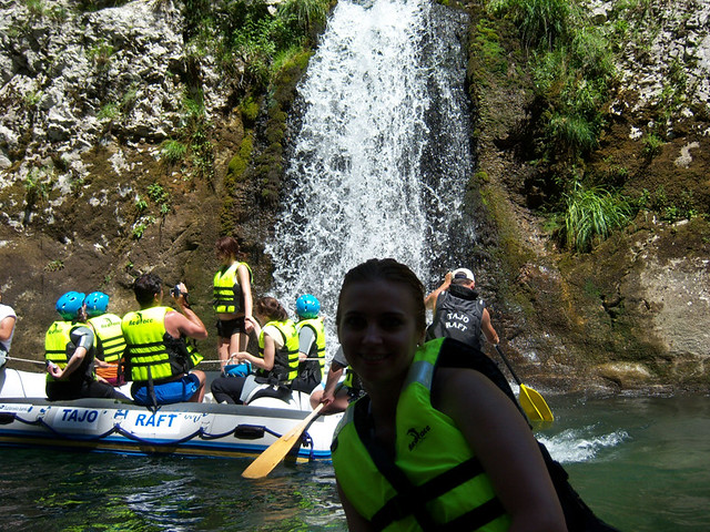 Rafting experience on the Neretva river
