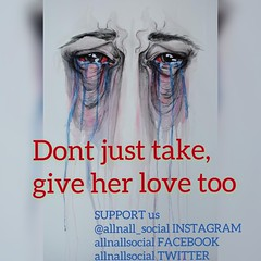 Don't be selfish, give to the ones you love ❤️ #AllnAll #give #helpwomen #realise #importance #new #explore #trending #stopdomesticviolence #help #stopwomenabuse #lovewomen #respectwomen #womenrule #strongwomen #protectwomen #stopwomentorture
