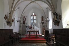Nicorps : le chœur de l'église Saint-Corneille - Photo of Guéhébert