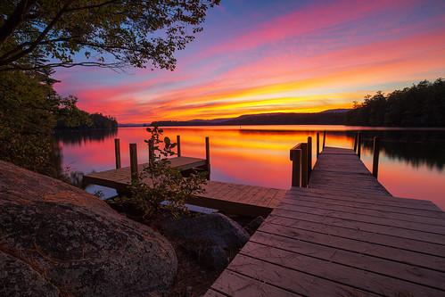 2017 5d canon lake lakelife markiii nh nhphotographer newengland newhampshire robcliffordphotography robertallanclifford robertclifford squamlake summer reflection sun sunset