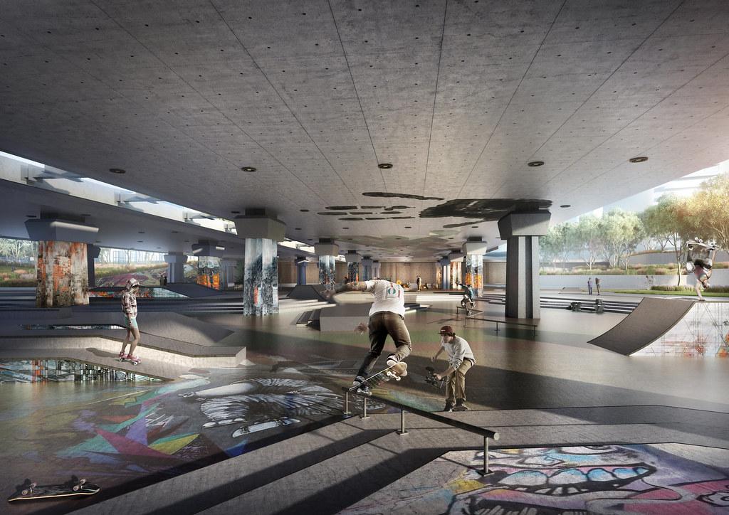 The Shams Central Skate Park