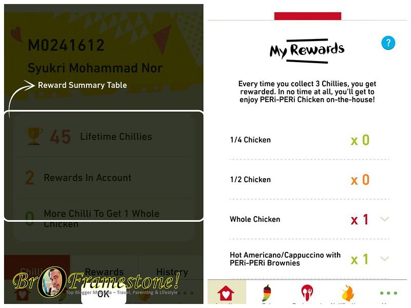 Aplikasi Nando's Berwajah Baru