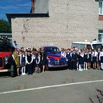 1 сентября ученикам 25 школы города Верхняя Пышма напомнили о комплексной безопасности