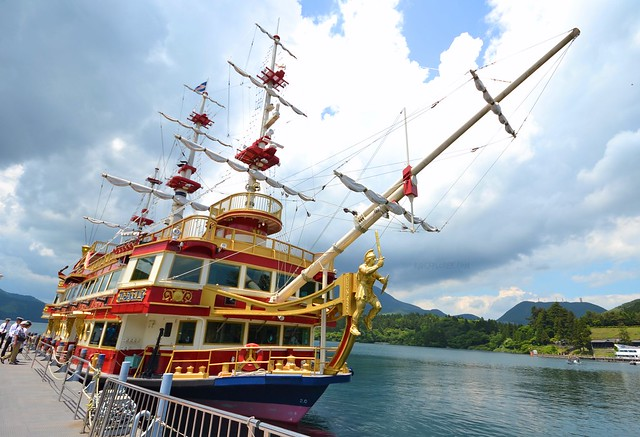 japan itinerary travel guide lake ashi cruise hakone