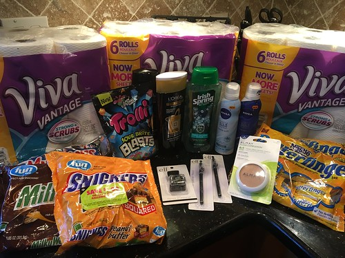 Drugstore shopping September 24