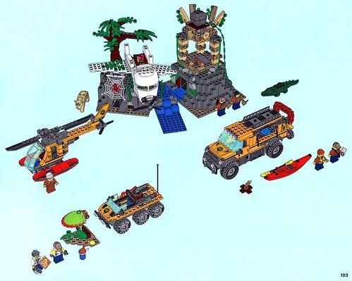 LEGO City Jungle 60161 Jungle Exploration Site 16