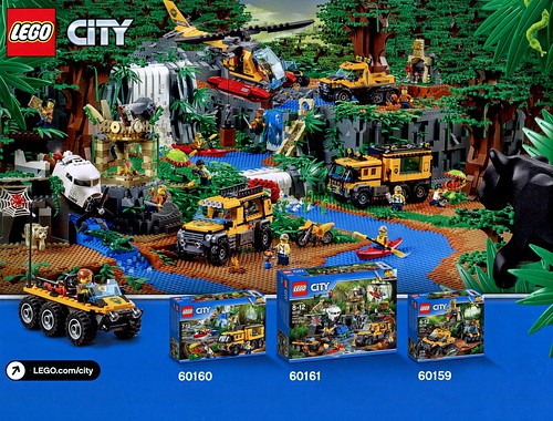 LEGO City Jungle 60161 Jungle Exploration Site 15