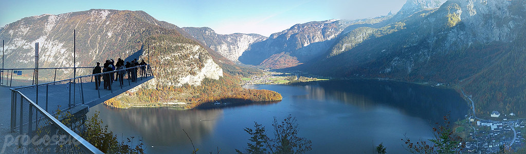 Hallstatt panorama view