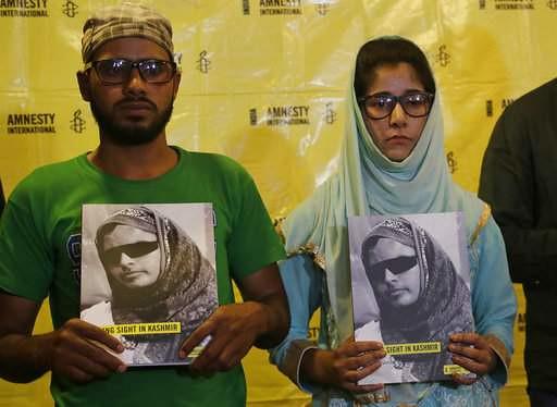 Amnesty International urges government to ban pellet guns