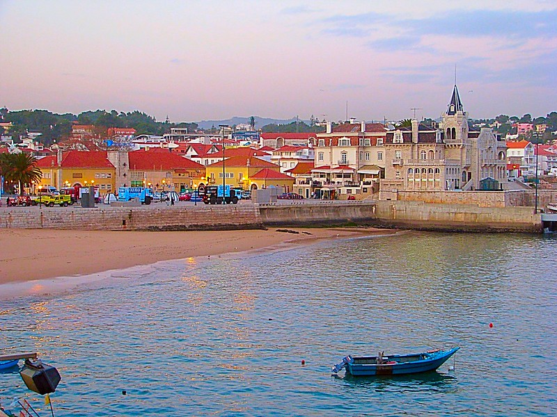 Cascais Portuguese Atlantic fishing village