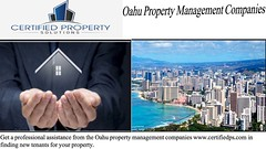 Oahu Property Management Companies - www.certifiedps.com