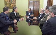 Visita do deputado Jair Messias Bolsonaro