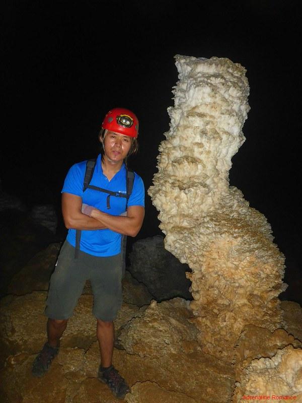 Crooked Stalagmite