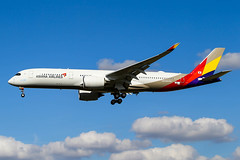 HL7578(F-WZNJ) A350-941 Asiana Airlines