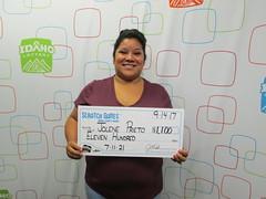 Jolene Prieto - $1,100 - 7-11-21 - Rupert - Bonnie's