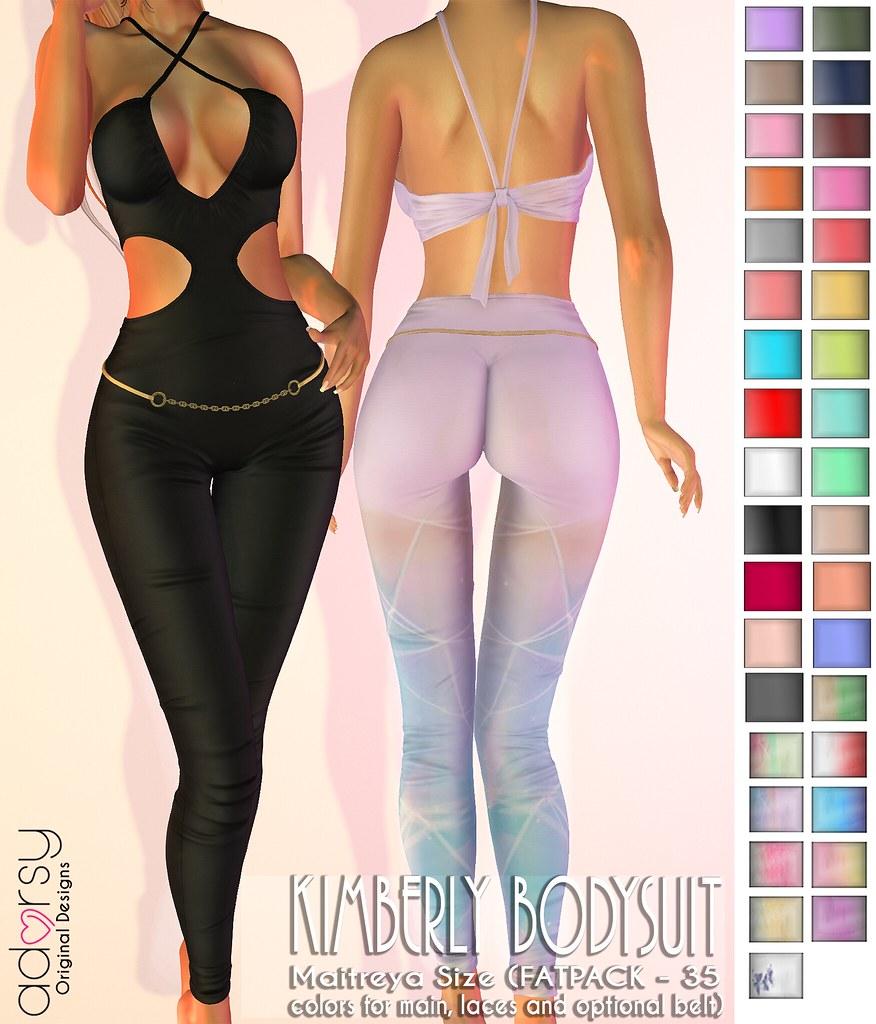 Kimberly Bodysuit - adorsy - TeleportHub.com Live!