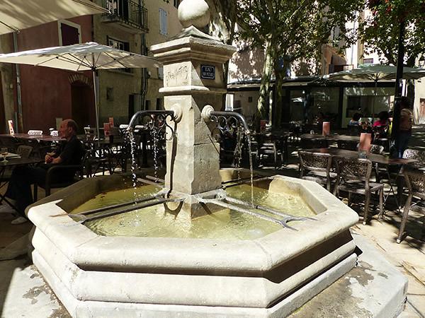 fontaine manosque