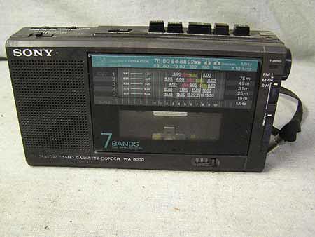 SONY CASSETTE-CORDER WA-6000