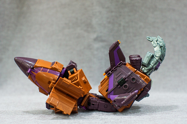 Blast Off Combiner Mode 2