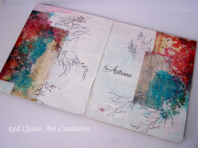 autumn art journal page 2