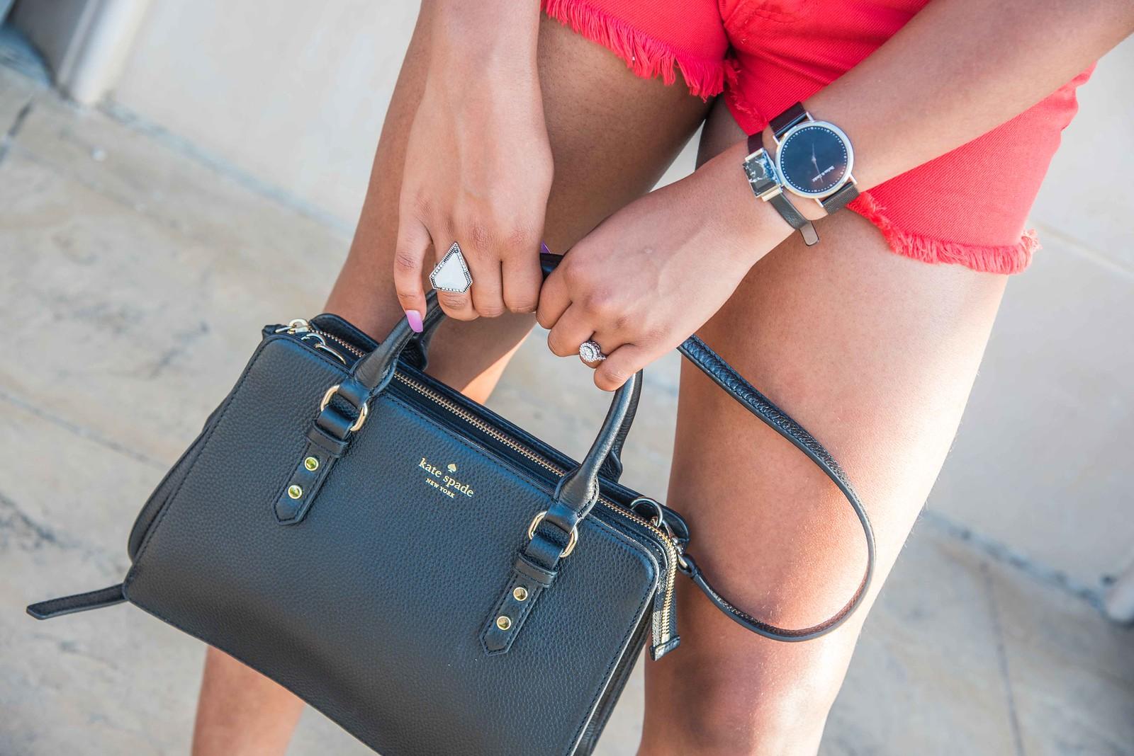 ringly, Kate spade handbag