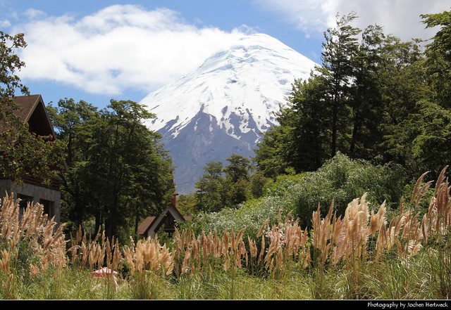 Volcán Osorno seen from Petrohué, Chile